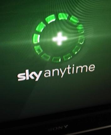 sky anytime wird gestartet