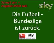 Sky Angebot zum Bundesligastart 2014